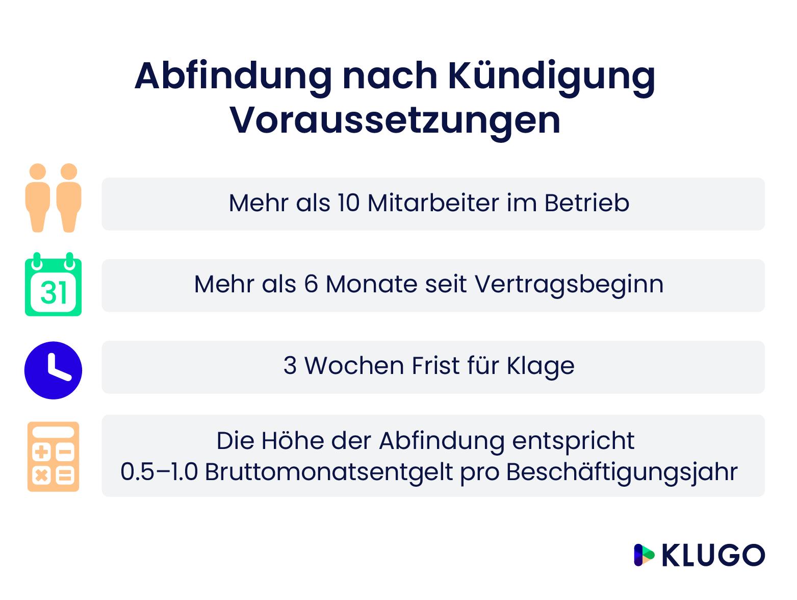 Aufhebungsvertrag Und Abfindung Klugo