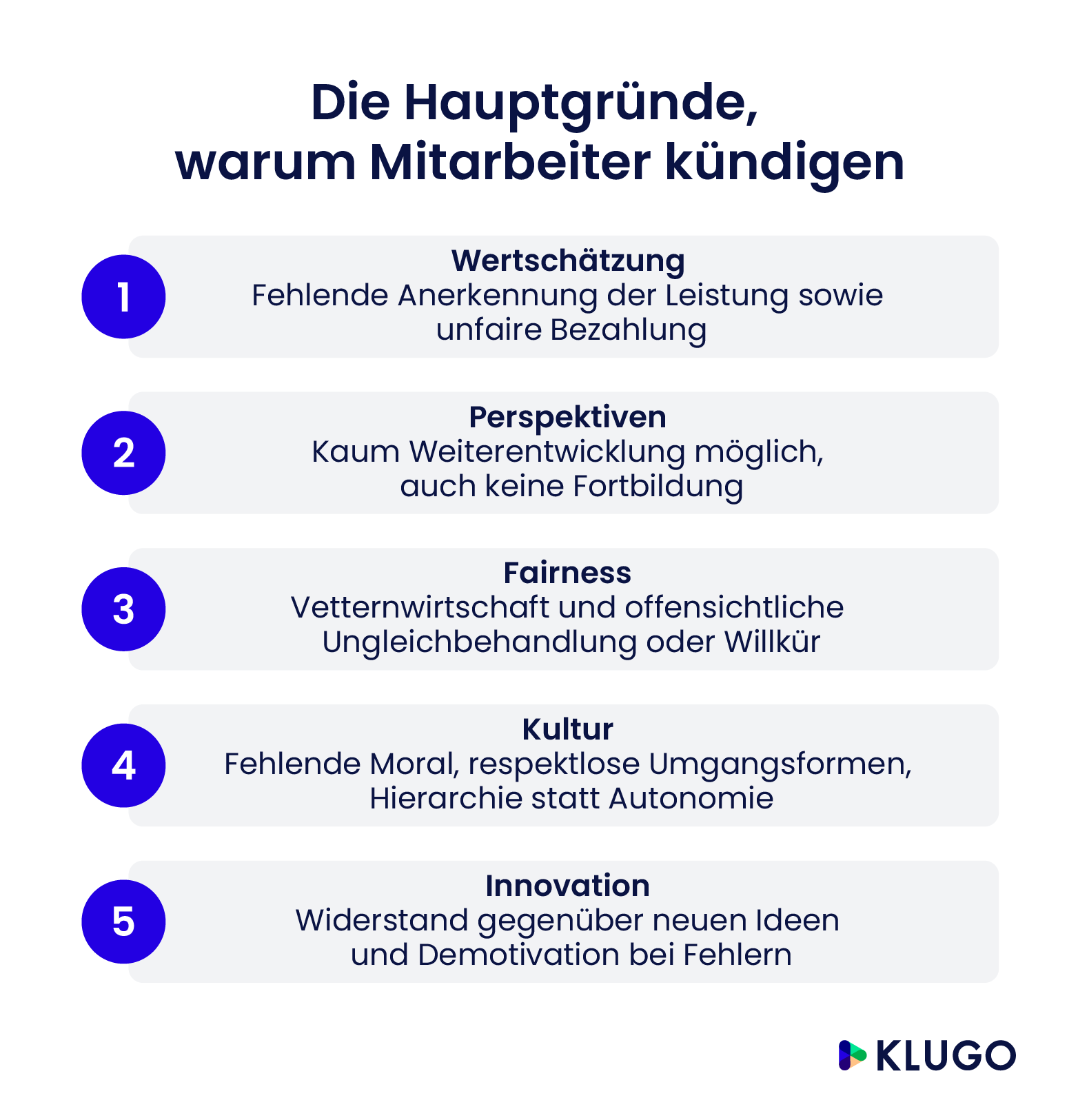Kündigungsgründe Im Arbeitsrecht Klugo